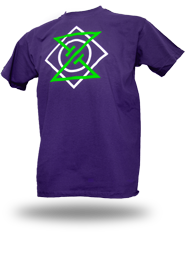 Meta Punk [ALPHA-NERD] - t-shirt - purple