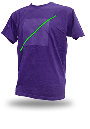 Free Spirit [ANARCHIST-FLAG] - t-shirt - purple