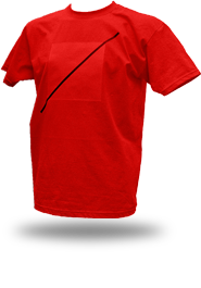 Free Spirit [ANARCHIST-FLAG] - t-shirt - red