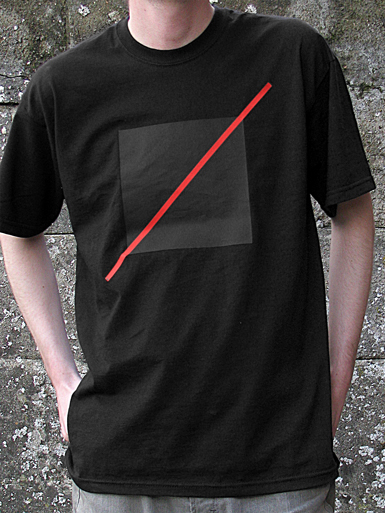 Free Spirit [ANARCHIST-FLAG] - t-shirt - red, black on black // Photo 1