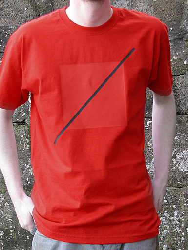 Free Spirit [ANARCHIST-FLAG] - t-shirt - black, red on red // Photo 1