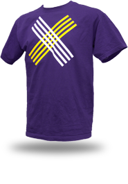 Disobey [CIVIL-DISOBEDIENCE] - t-shirt - purple