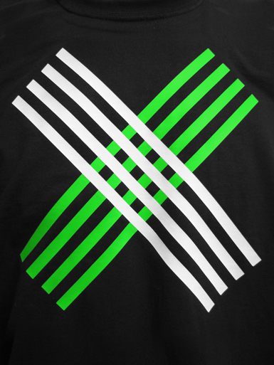 Disobey [CIVIL-DISOBEDIENCE] - t-shirt - white, neon green on black // Photo 2