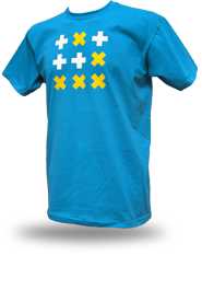 Digital Native [HACKTIVIST / GLIDER] - t-shirt - azure