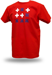 Digital Native [HACKTIVIST / GLIDER] - t-shirt - red