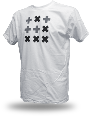 Digital Native [HACKTIVIST / GLIDER] - t-shirt - white