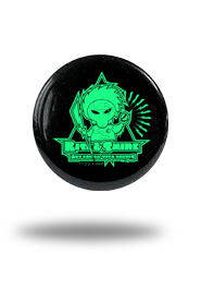 Rise & Shine [MISSION-PATCH] - button - g.i.t.d.