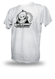 Rise & Shine [MISSION-PATCH] - t-shirt - white
