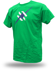 Daily Hero [NEEMT / OCCUPY / SQUATTING] - t-shirt - green