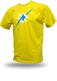 Daily Hero [NEEMT / OCCUPY / SQUATTING] - t-shirt - yellow