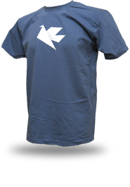 Peace Dove [PACIFIST] - t-shirt - steel blue