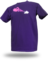 Love Army [PEACE-SOLDIER] - t-shirt - purple