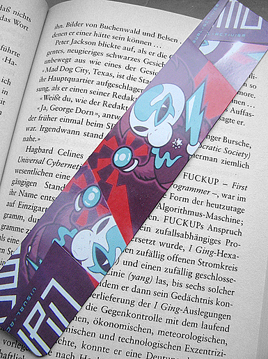 Neutron Death [PROTON-WAR] - bookmark - cmyk, 4c - offset print // Photo 1