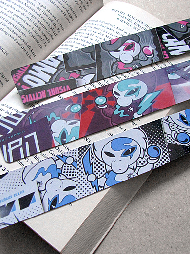 Neutron Death [PROTON-WAR] - bookmark - cmyk, 4c - offset print // Photo 2
