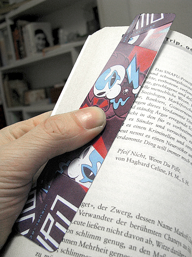 Neutron Death [PROTON-WAR] - bookmark - cmyk, 4c - offset print // Photo 3