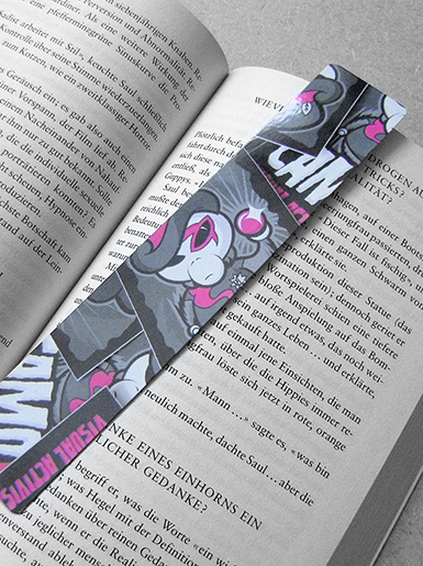 Zoot Suit [PSYCHADELIC] - bookmark - cmyk, 4c - offset print // Photo 1