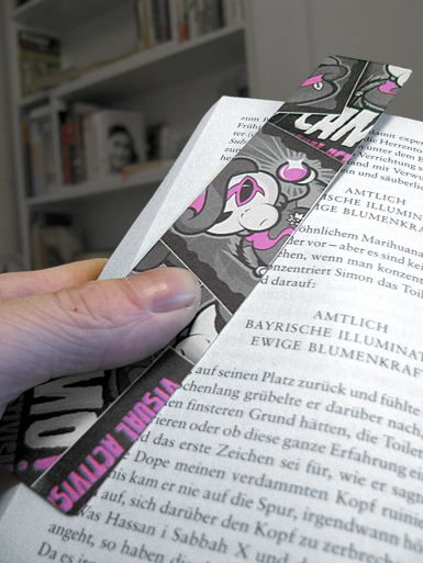 Zoot Suit [PSYCHADELIC] - bookmark - cmyk, 4c - offset print // Photo 3