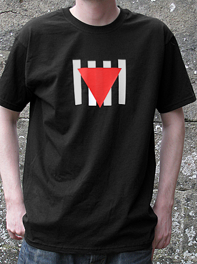 Résistance [VVN / BDA] - t-shirt - red, white on black // Photo 1