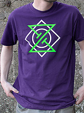 meta-punk, t-shirt, purple – Outdoor