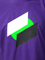 two-point-o, t-shirt, purple – Front