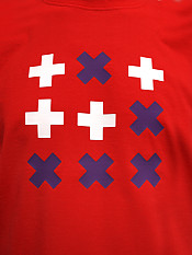 digital-native, t-shirt, red – Front