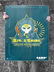 rise-and-shine, poster, cmyk – Outdoor