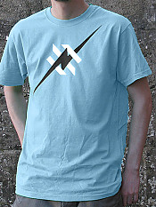 daily-hero, t-shirt, sky-blue – Outdoor