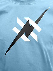 daily-hero, t-shirt, sky-blue – Front