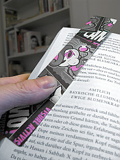 zoot-suit, bookmark, cmyk – Back