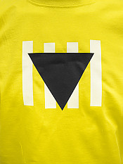 résistance, t-shirt, yellow – Front